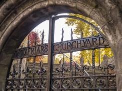 Greyfriars churchyard