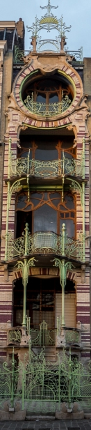 a less known house by Victor Horta