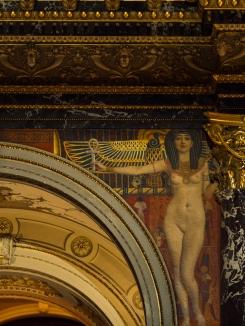 Klimt's wall paintings Kunsthistorisches Museum