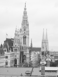 View from Justizcafe - Townhall