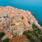Birdview of Cefalu