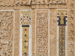Monreale - detail of the portal