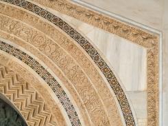 Monreale - detail of the portal