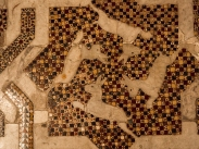 Monreale cathedral - detail of pavement mosaic