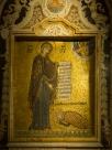 Santa Maria dell'Ammiraglio - old King Roger II bows to Virgin Mary