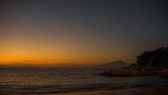 Vesuvius at sunset