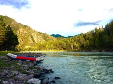 Rafting the Katun