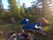 first camp