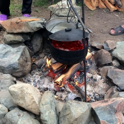 Cooking borshch