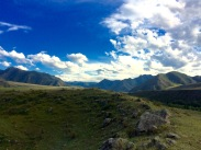 Views from the second camp on Katun