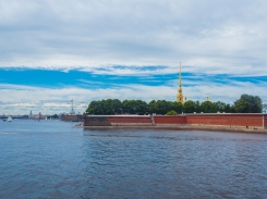 Peter and Paul Fortress from Neva