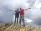 Hike to the Peak of Love - on the peak with Pavol