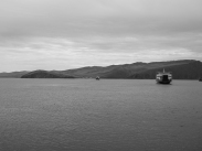 Ferries between Olkhon Island and mainland Russia