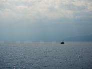 Over the Baikal towards the western coast