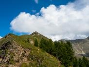 Hike to the Peak of Love - below the peak