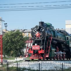 Ulan Ude - railway museum