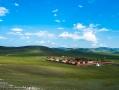 birdview over the monastery