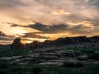 Baga Gazryn Chuulu at sunset
