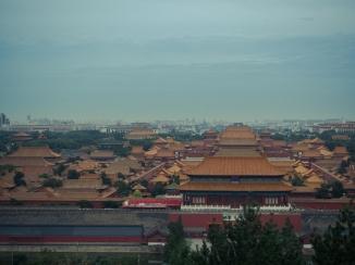 view over Forbidden City