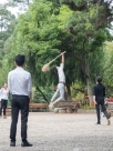 dodgeball game at Black Dragon Pool