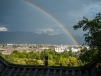 rainbow over Old Lijiang