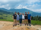 Longji rice terraces - the team