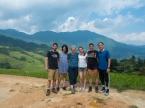Longji rice terraces - the team