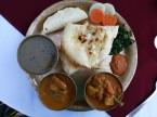 fish curry at pokhara