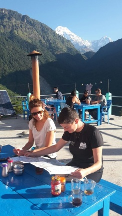 Day 2 - Start at Ulleri (with Amandine)