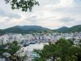 view over Tongyeong marina