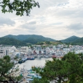 view over Tongyeong marina