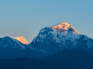 Fisrt sun on Daulaghiri Peak (8167m)