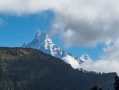 View of Mt Macchapucchre
