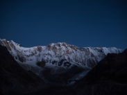Annapurna I before sunrise