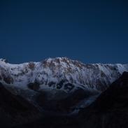 Annapurna I before sunrise