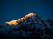 Annapurna I at sunrise