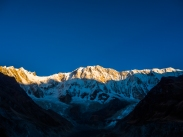 Annapurna I at sunrise
