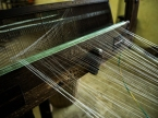 making of the silk thread