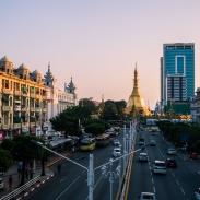 Sule Pagoda, Chinatown, Yangon