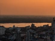 Riverside at sunset, Yangon