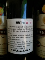 in all fairness this bottle is not form the inle production, but it is priceless