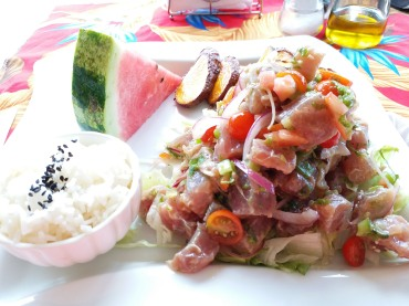 ceviche of tuna