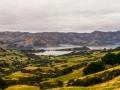 View over Akaroa Harbour