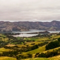 View over Akaroa Harbour