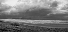 very stormy sea