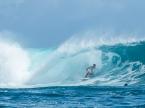 Tahui in the waves
