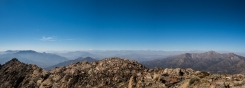 View from La Campana - that white bit at the horizon is Aconcagua