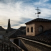 views over Toledo from the bell tower of San Salvador