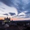 sunset over Toledo