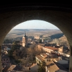 View over Alcazar from the Cathedral bell tower